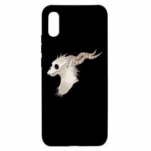 Etui na Xiaomi Redmi 9a Goat skull