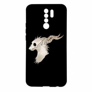 Etui na Xiaomi Redmi 9 Goat skull