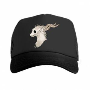 Czapka trucker Goat skull