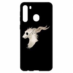 Etui na Samsung A21 Goat skull