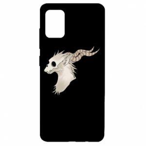 Etui na Samsung A51 Goat skull