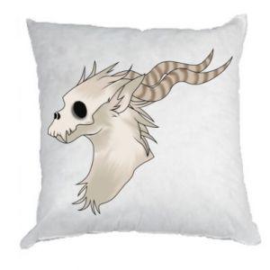 Poduszka Goat skull