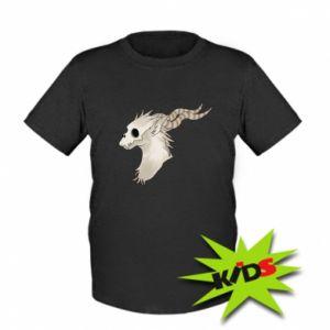 Dziecięcy T-shirt Goat skull