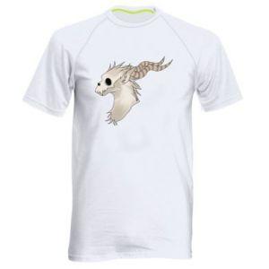 Koszulka sportowa męska Goat skull
