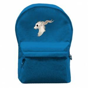 Plecak z przednią kieszenią Goat skull