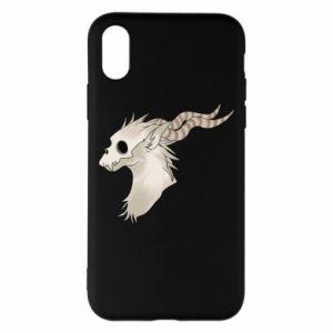 Etui na iPhone X/Xs Goat skull