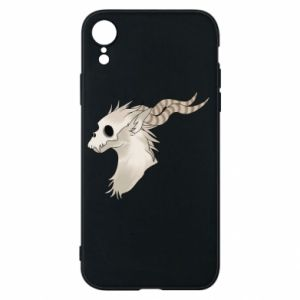 Etui na iPhone XR Goat skull