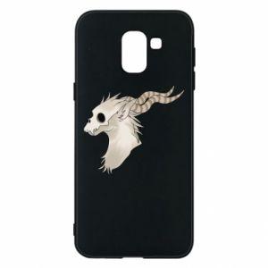 Etui na Samsung J6 Goat skull