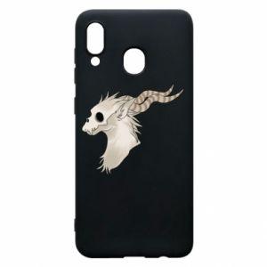 Etui na Samsung A30 Goat skull