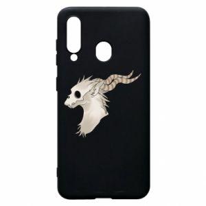 Etui na Samsung A60 Goat skull