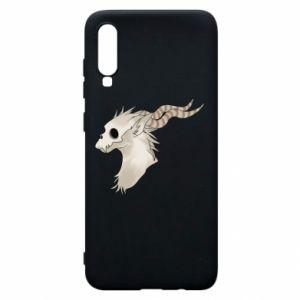 Etui na Samsung A70 Goat skull