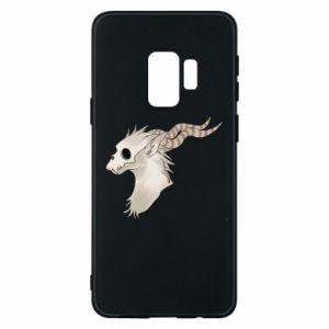 Etui na Samsung S9 Goat skull