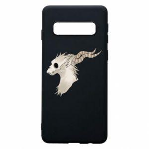 Phone case for Samsung S10 Goat skull