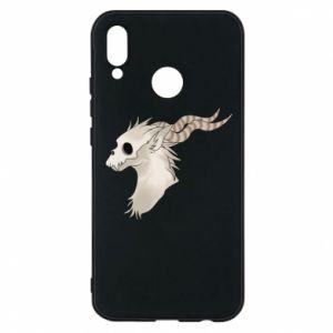 Etui na Huawei P20 Lite Goat skull
