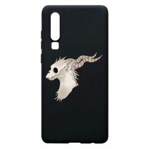 Etui na Huawei P30 Goat skull
