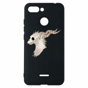 Etui na Xiaomi Redmi 6 Goat skull