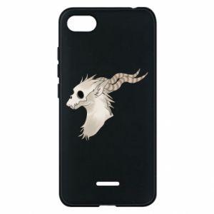 Etui na Xiaomi Redmi 6A Goat skull