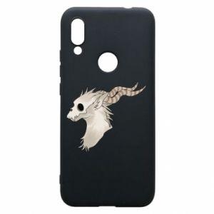 Etui na Xiaomi Redmi 7 Goat skull