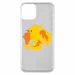 Phone case for iPhone 11 Golden Phoenix - PrintSalon