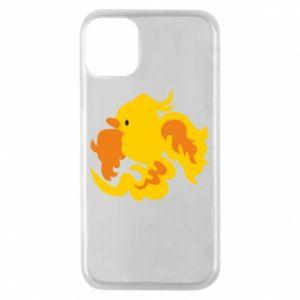 Phone case for iPhone 11 Pro Golden Phoenix - PrintSalon
