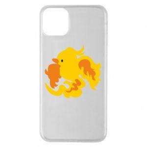 Phone case for iPhone 11 Pro Max Golden Phoenix - PrintSalon