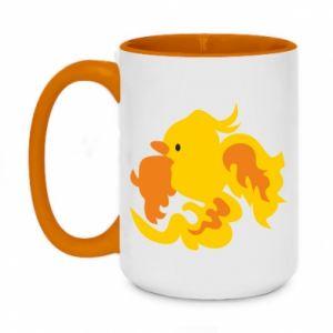 Kubek dwukolorowy 450ml Golden Phoenix