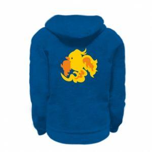 Bluza na zamek dziecięca Golden Phoenix