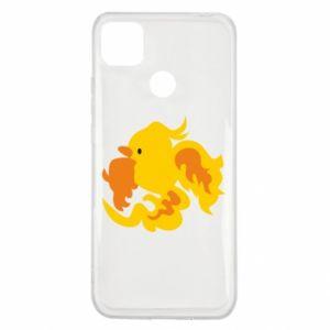 Etui na Xiaomi Redmi 9c Golden Phoenix