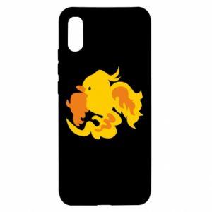 Etui na Xiaomi Redmi 9a Golden Phoenix