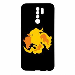 Etui na Xiaomi Redmi 9 Golden Phoenix