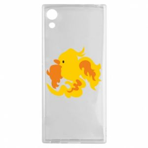 Etui na Sony Xperia XA1 Golden Phoenix