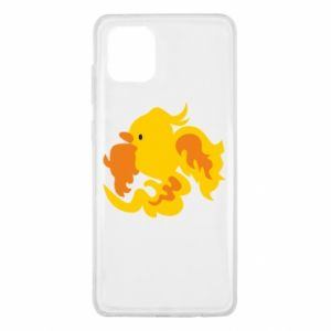 Etui na Samsung Note 10 Lite Golden Phoenix