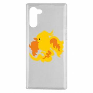 Etui na Samsung Note 10 Golden Phoenix