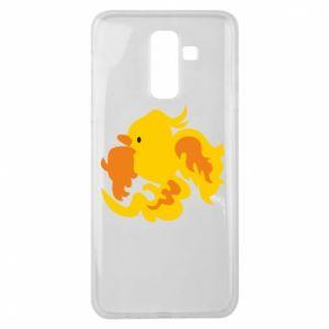 Etui na Samsung J8 2018 Golden Phoenix