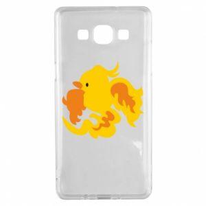 Etui na Samsung A5 2015 Golden Phoenix