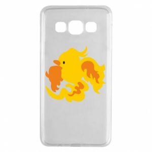 Etui na Samsung A3 2015 Golden Phoenix