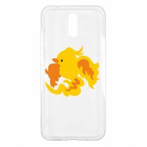 Etui na Nokia 2.3 Golden Phoenix