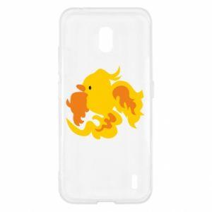 Etui na Nokia 2.2 Golden Phoenix