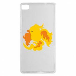 Etui na Huawei P8 Golden Phoenix