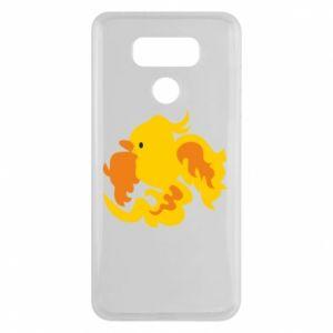 Etui na LG G6 Golden Phoenix