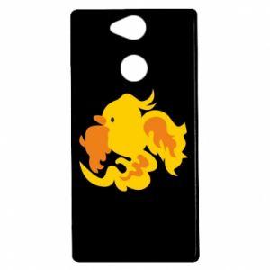 Etui na Sony Xperia XA2 Golden Phoenix