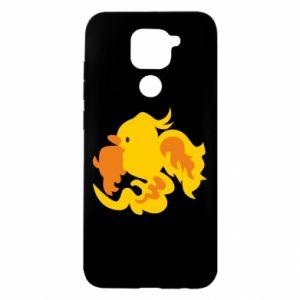 Etui na Xiaomi Redmi Note 9/Redmi 10X Golden Phoenix