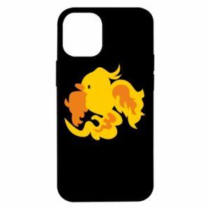 Etui na iPhone 12 Mini Golden Phoenix
