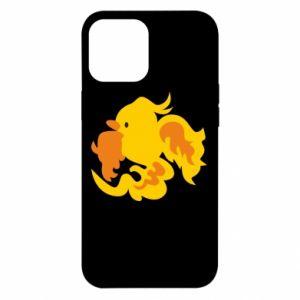 Etui na iPhone 12 Pro Max Golden Phoenix