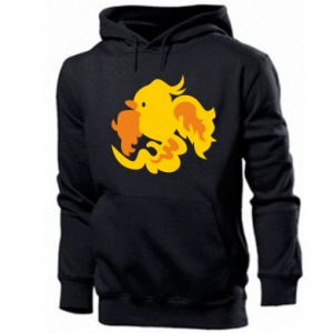 Men's hoodie Golden Phoenix - PrintSalon