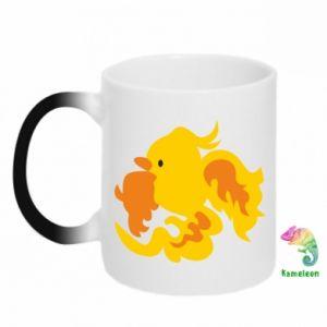 Chameleon mugs Golden Phoenix - PrintSalon