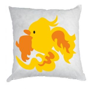 Pillow Golden Phoenix - PrintSalon
