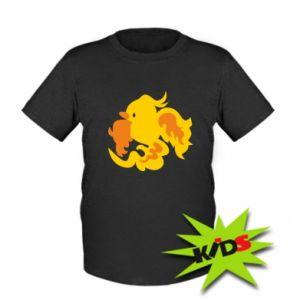 Kids T-shirt Golden Phoenix - PrintSalon