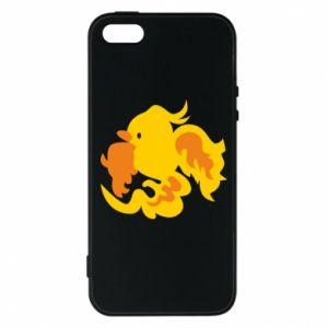 Phone case for iPhone 5/5S/SE Golden Phoenix - PrintSalon