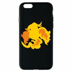 Phone case for iPhone 6/6S Golden Phoenix - PrintSalon